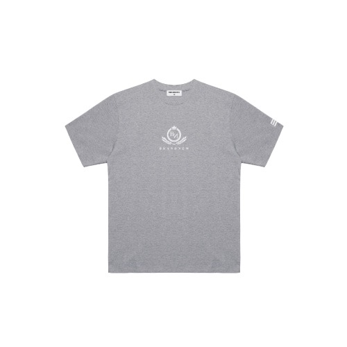 BRANDNEW CREST LOGO T-SHIRT GREY